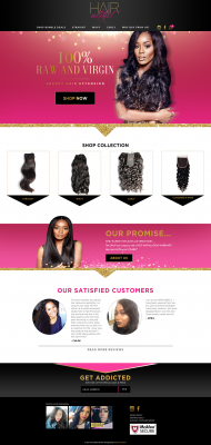 Hair Addict Online